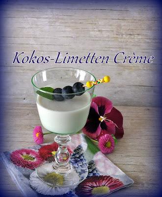 Kokos-Limetten-Creme