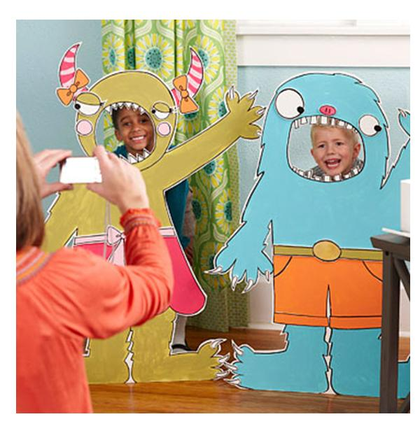Nursery Décor For The Grown Ups: It's Written On The Wall: Fun Halloween Crafts And Party