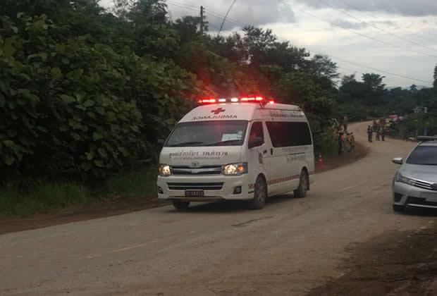 Rescatados los 13 jóvenes y el entrenador en Tailandia