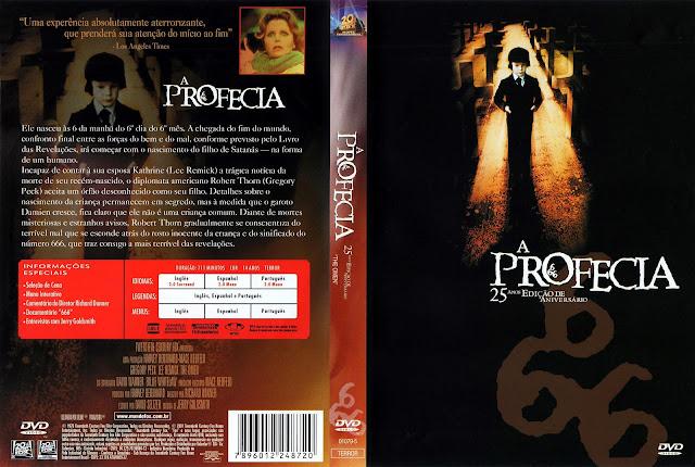 Capa DVD A Profecia [Edição de Aniversário de 25 Anos]