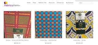 Ankara fabrics and more from Fabricsphere