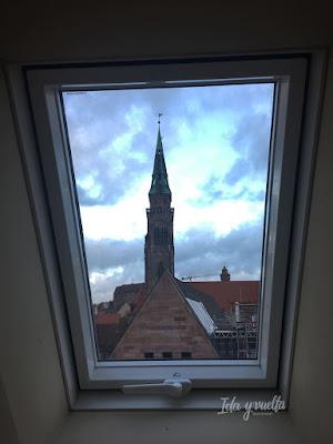 Desde la ventana del baño