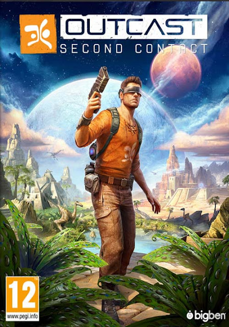OUTCAST SECOND CONTACT 2DVD WIYKOM GAME PC