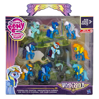 MLP Wonderbolts Cloudsdale Mini Collection