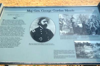 Gettysburg Battlefield - General Meade