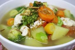 Resep Sup Ayam Kuah Sedap