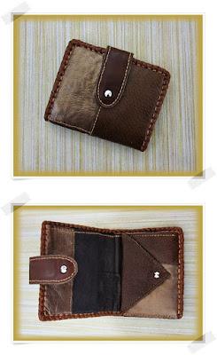 carteras hechas en cuero y piel