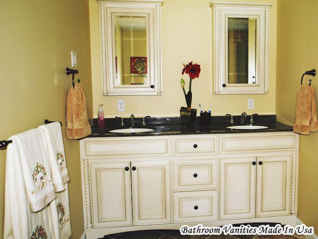 Bathroom Vanities Made In USA with Double Sink