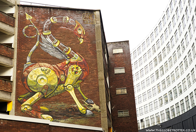 Bristol Street Art by Pixel Pancho