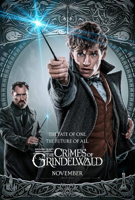 Novos pôsteres dos personagens de 'Os Crimes de Grindelwald' são divulgados | Newt Scamander e Alvo Dumbledore | Ordem da Fênix Brasileira