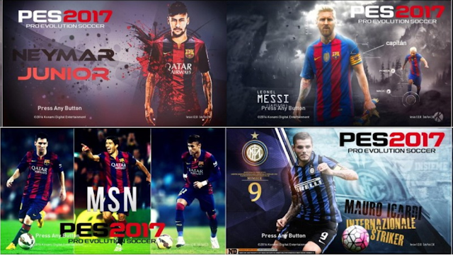 PES 2017 Star Screen V4 By Ez