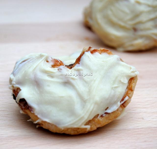 Palmeritas Caseras de Chocolate Blanco