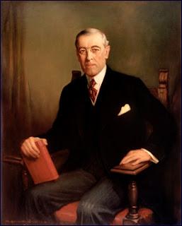 Presidente EEUU primera guerra mundial