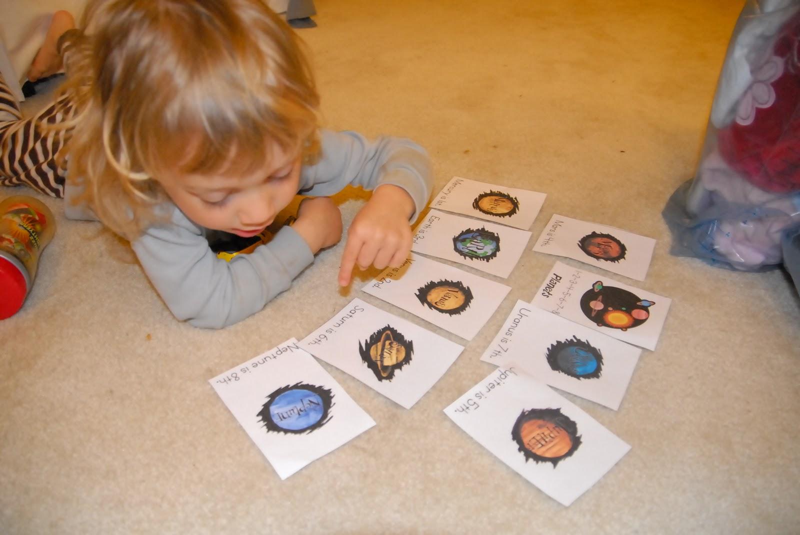 Mc Tot Preschool Solar System