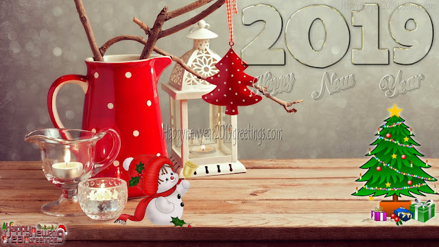 New Year 2019 Colorful HD Photo Download