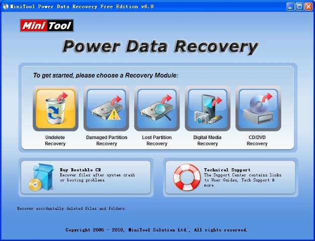 تحميل برنامج استعادة الملفات المحذوفة من الكمبيوتر
