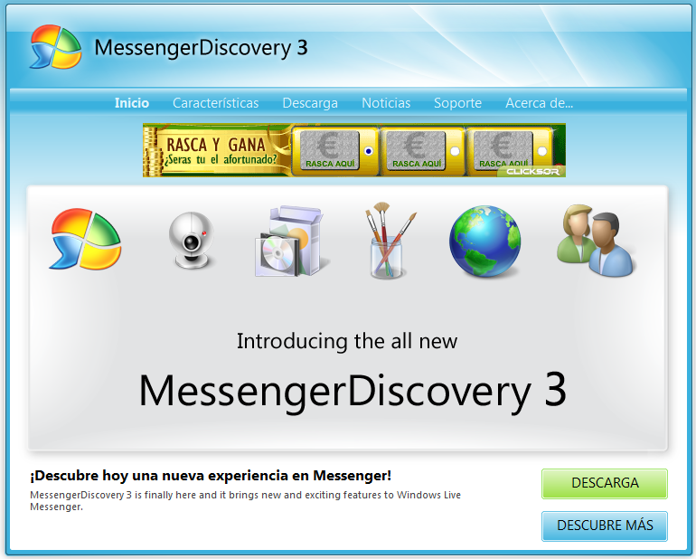 discovery live msn