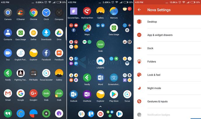 aplikasi launcher terbaik android