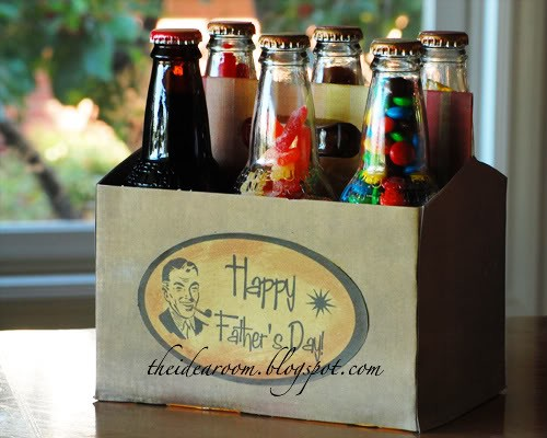Home By Heidi: Fathers Day Soda Pop Gift Idea