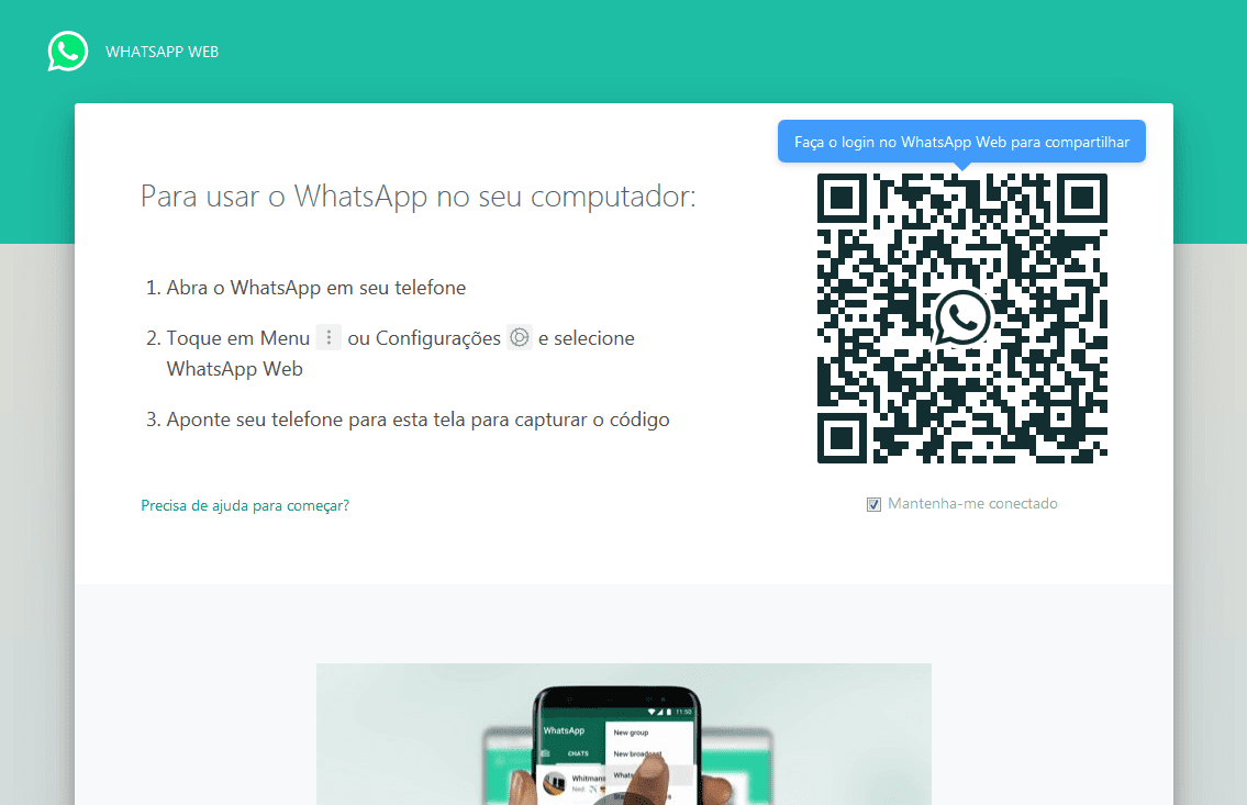 Whatsapp na web