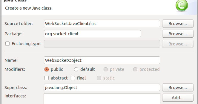 Websocket Client In Java ~ Yasassri's Blog