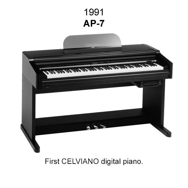 Đàn Piano Casio Celviano AP-7