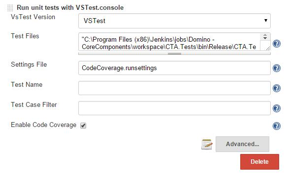 waldo codes}: MS-Test Code Coverage in Jenkins Build Server