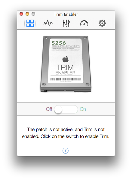 Enable TRIM for Non-Apple SSD in Mac OS X - Keyboard Exploit