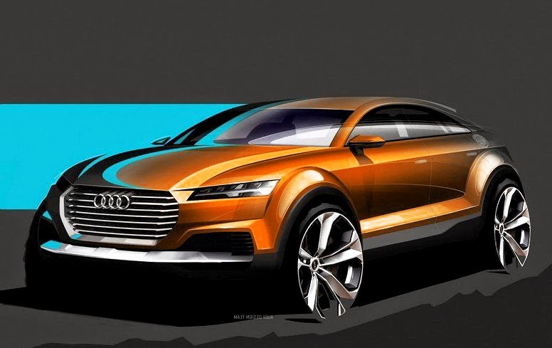 Audi Q4 Suv Concept Sport Car Design