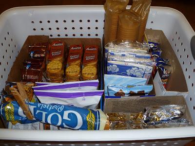 Organizing Childrens Snacks