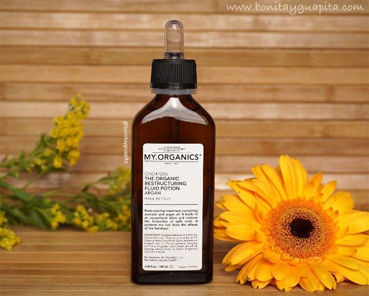 Cómo Evitar las puntas abiertas Consejos +| MY.ORGANICS Restructuring fluid potion Argan & Hydrating Serum: RESEÑA