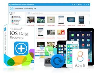 4Videosoft iOS Data Recovery Portable