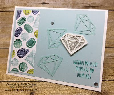 Created by Faith Boston with Stampin' Up! You're Priceless for Stamping to Share.