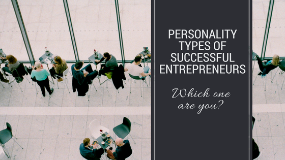 Personality types of entrepreneurs