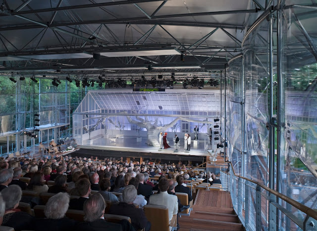 Auditorium of Garsington Opera at Wormsley (Photo Dennis Gilbert)