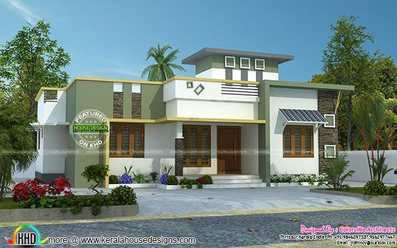 simple single storied home