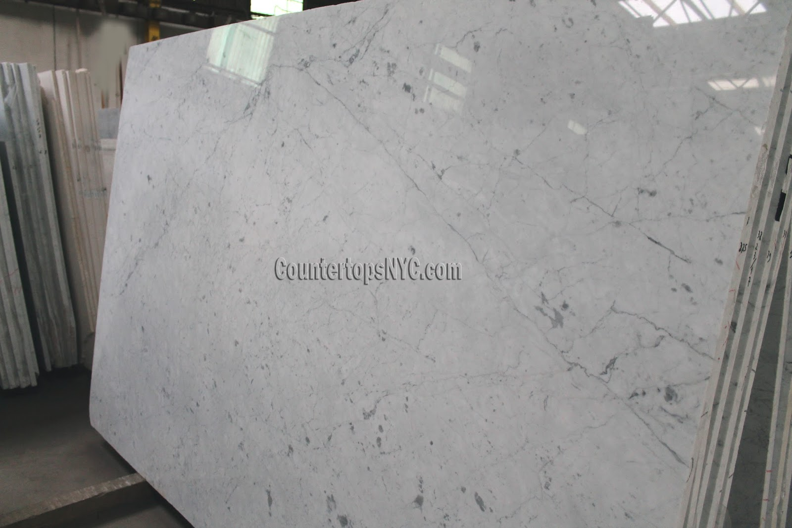 Carrara White Marble – Countertops NYC