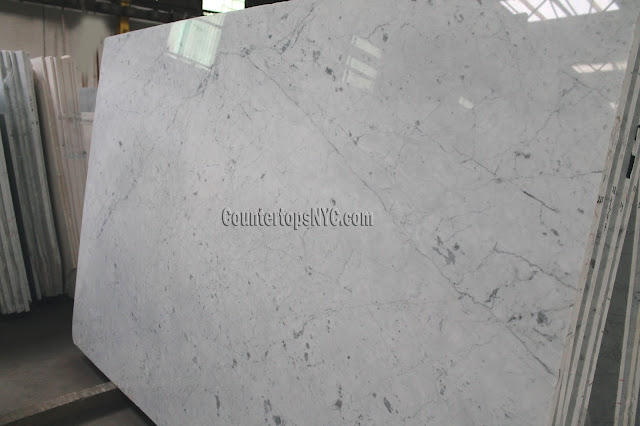 White Carrara Marble Slabs For Countertops