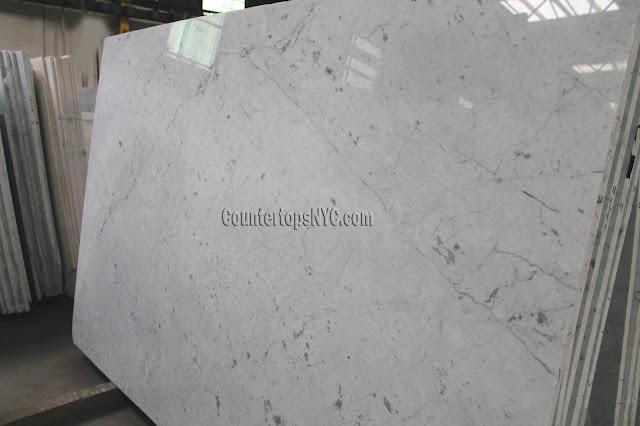 White Carrara Marble Slabs For Countertops