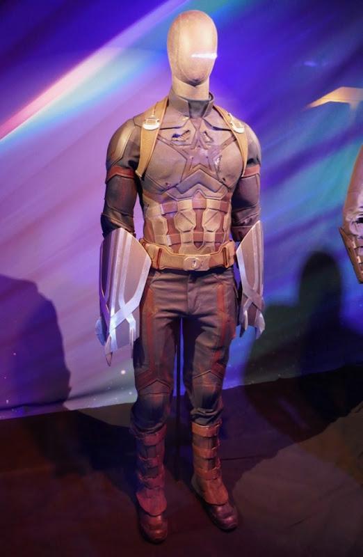Chris Evans Avengers Infinity War Captain America Nomad costume