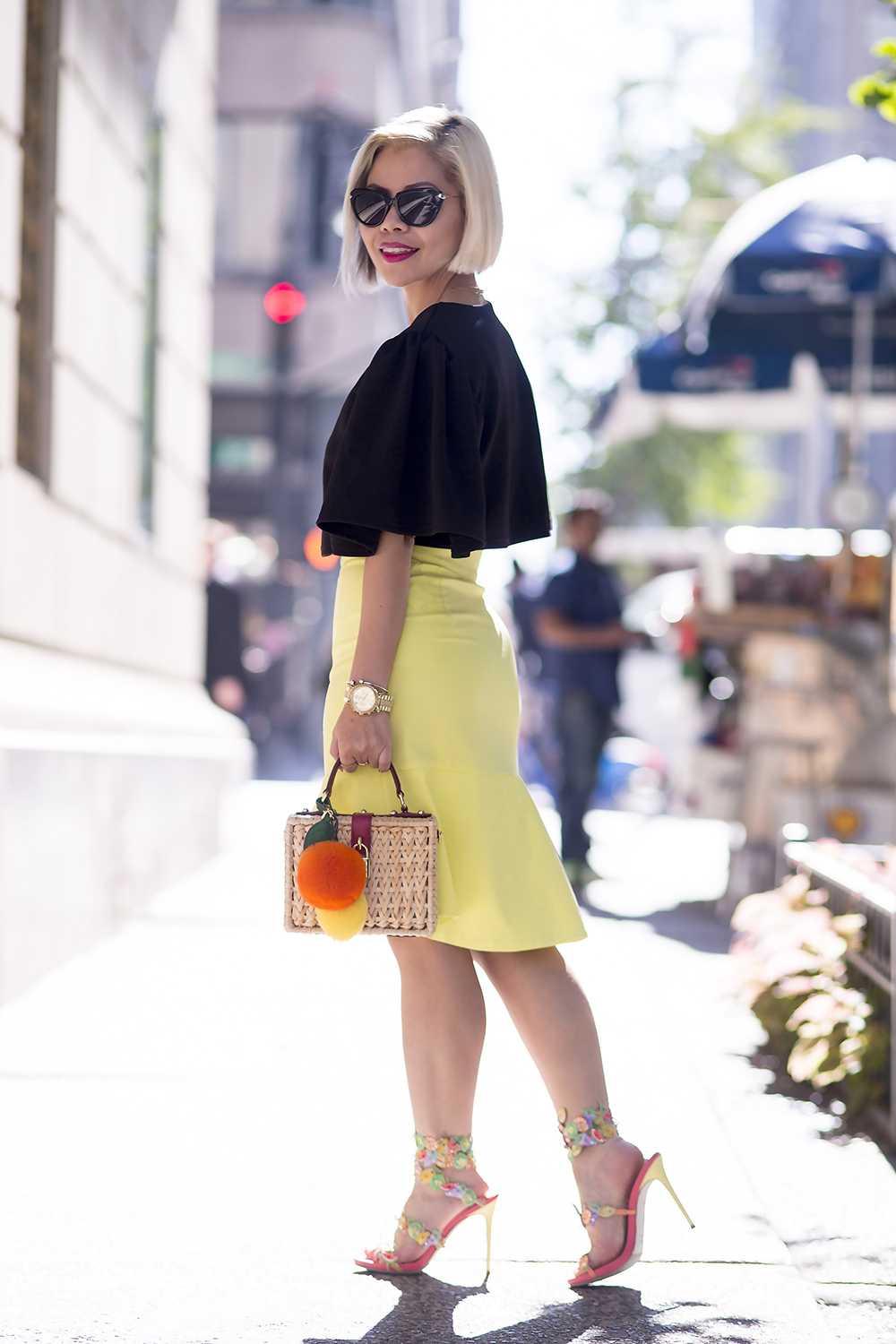 New York Fashion Week Streetstyle 2015- Crystal Phuong