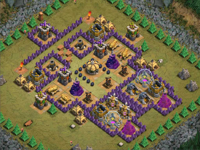 Goblin Base Clash of Clans Megamansion