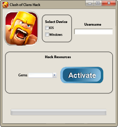 Clans hack clash no gem of download android