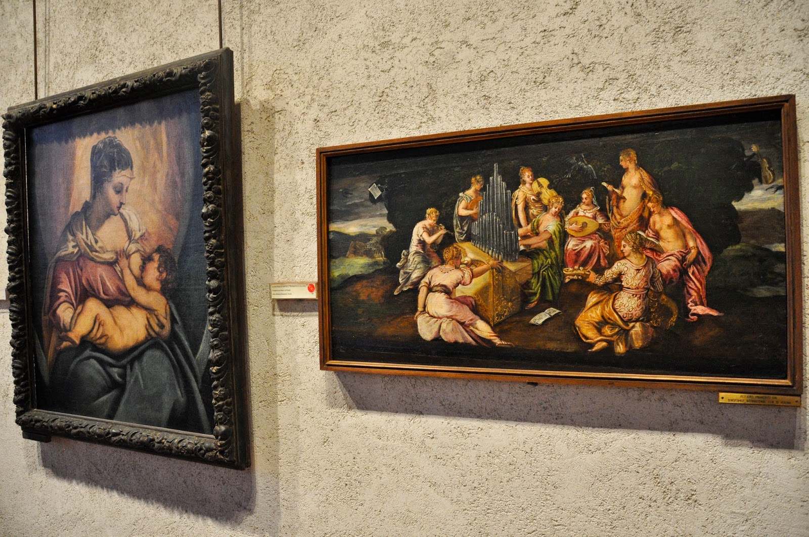 Paintings by Tintoretto and a whole host of artists adorn the walls in the Museum of Castelvecchio in Verona