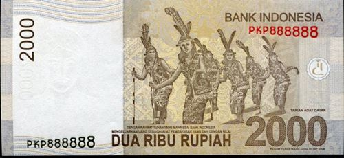 Indonesia Solid 8 banknote
