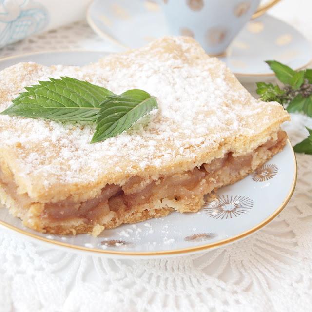 Helen Fir-tree apple pie яблочный пирог