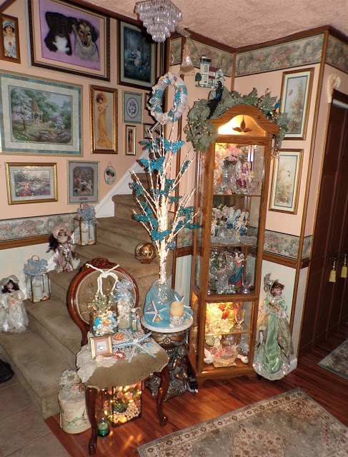 """More """"Under the Sea"""" Decorations in the Living Room, 2020"""