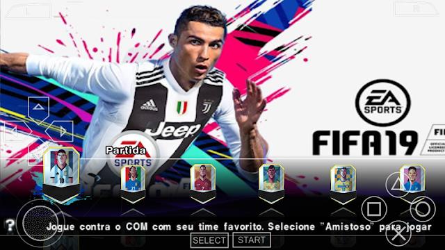 SAIU!! PES 2018 MOD FIFA NOVO PATCH BRASILEIRAO & EUROPEU ATUALIZADO  KITS & ELENCOS 2019 PPSSPP