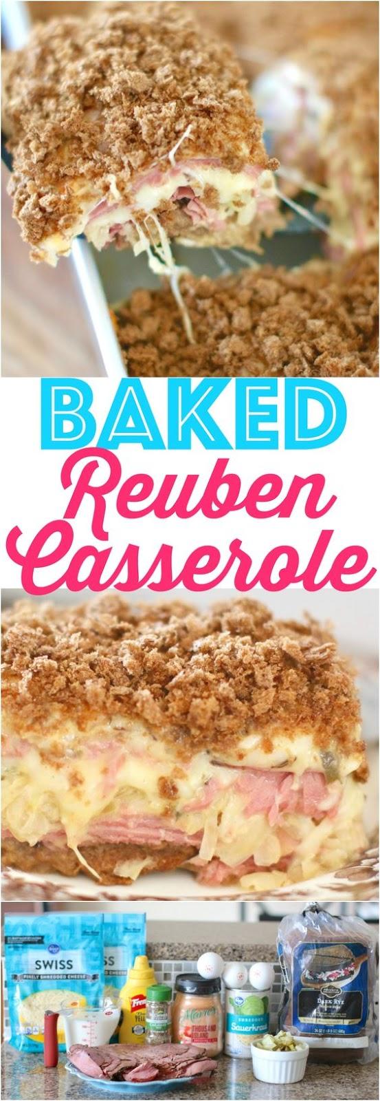 Baked Reuben Casserole