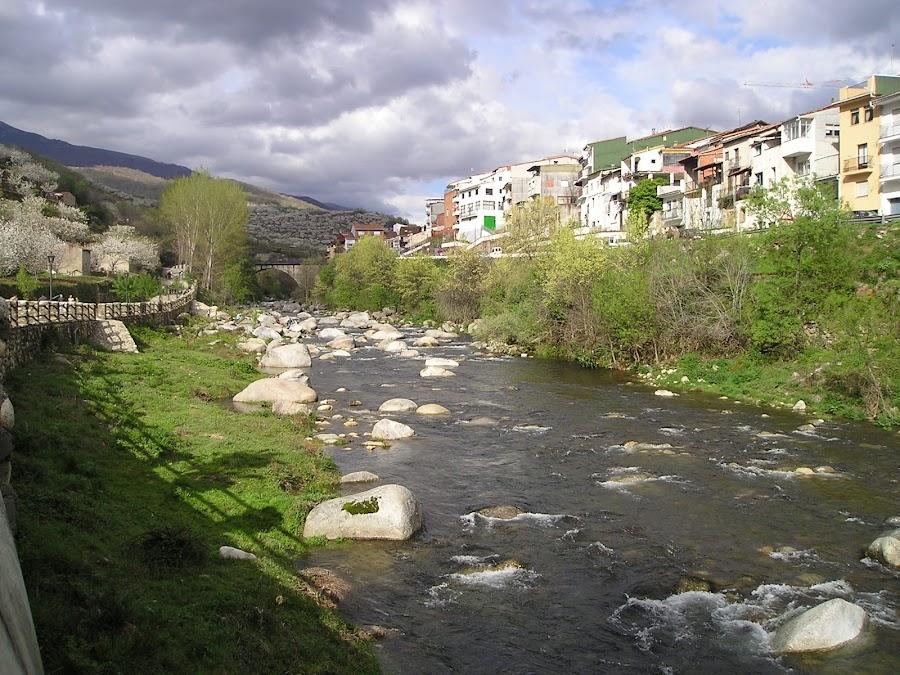 Navaconcejo, en el centro del Valle del Jerte, Extremadura